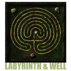 Labyrinth & well Poster