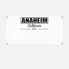Anaheim California Banner