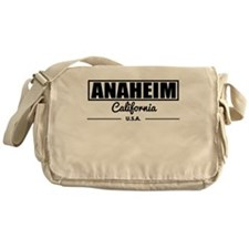 Anaheim California Messenger Bag