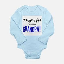That's It! I'm Calling Grandpa! Body Suit