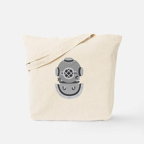 Diver Helmet Tote Bag