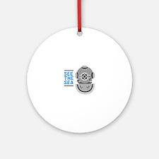See The Sea Ornament (Round)