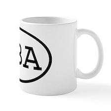 GBA Oval Mug