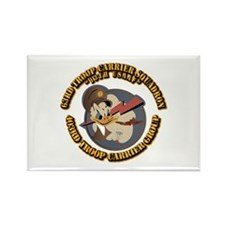 USAAF 63rd Troop Carrier Squadron Rectangle Magnet