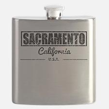 Sacramento California Flask