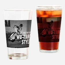Accordion Nerd Drinking Glass