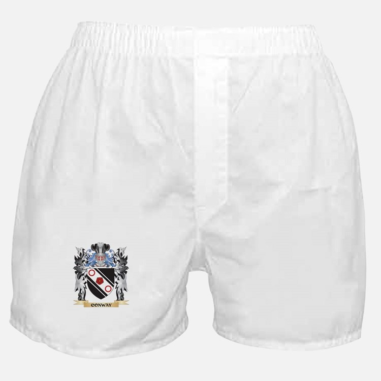 Conway Coat of Arms - Family Crest Boxer Shorts