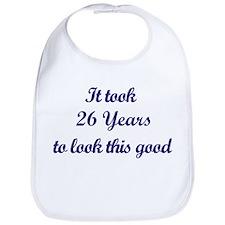 It took 26 Years years Bib