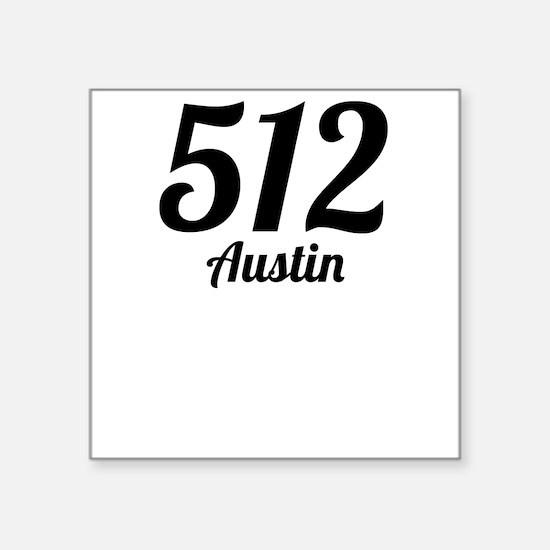 512 Austin Sticker
