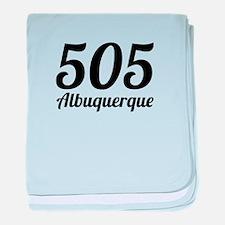 505 Albuquerque baby blanket