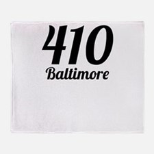 410 Baltimore Throw Blanket