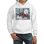 Patches Hooded Sweatshirt Front