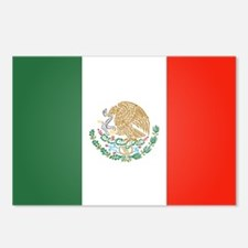 Flag Of Mexico Postcards (Package of 8)