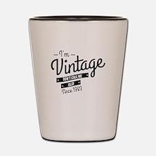 Im Vintage Since 1983 Shot Glass