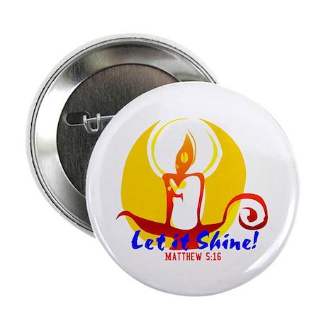 "Let it Shine 2.25"" Button (100 pack)"