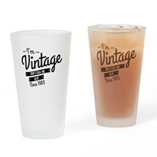 Im Vintage Since 1963 Drinking Glass