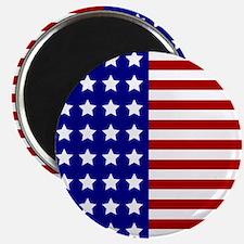 US Flag Stylized Magnets