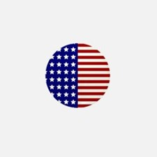 US Flag Stylized Mini Button (100 pack)