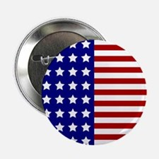 "US Flag Stylized 2.25"" Button"