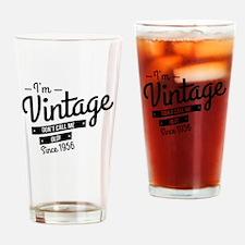 Im Vintage Since 1956 Drinking Glass