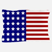 US Flag Stylized Pillow Case