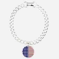 US Flag Stylized Bracelet