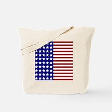 US Flag Stylized Tote Bag
