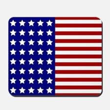 US Flag Stylized Mousepad