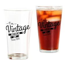 Im Vintage Since 1941 Drinking Glass