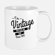 Im Vintage Since 1941 Mugs