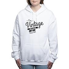 Im Vintage Since 1941 Women's Hooded Sweatshirt