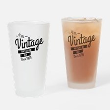 Im Vintage Since 1939 Drinking Glass