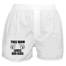 This Mom Loves Her Kids Boxer Shorts