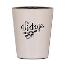 Im Vintage Since 1934 Shot Glass
