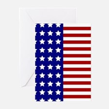 US Flag Stylized Greeting Cards