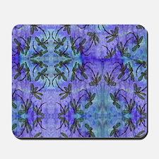Dragonfly Flit Purple Haze Mousepad