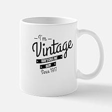 Im Vintage Since 1917 Mugs