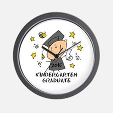 Cute Boy Kind Grad 2015 Wall Clock