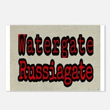 Watergate Russiagate Postcards (Package of 8)