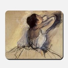 The Dancer by Edgar Degas Mousepad