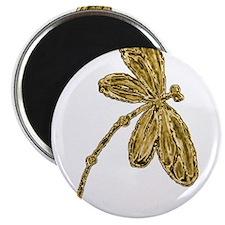 Golden Dragonfly Magnets