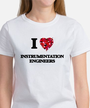 I love Instrumentation Engineers T-Shirt