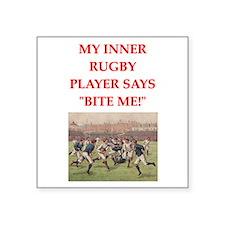 rugby joke Sticker