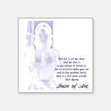 Joan of Arc - One Life Sticker