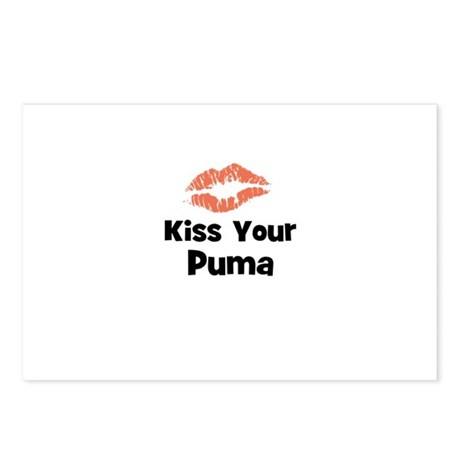 Kiss Your Puma Postcards (Package of 8)