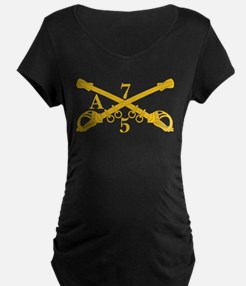 A Company 5th Troop 7th Cavalry Maternity T-Shirt
