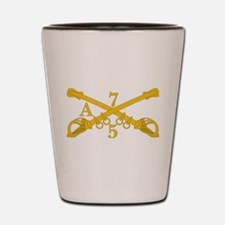A Company 5th Troop 7th Cavalry Shot Glass