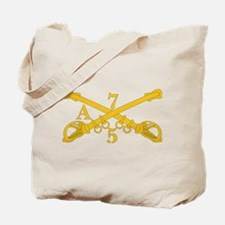 A Company 5th Troop 7th Cavalry Tote Bag