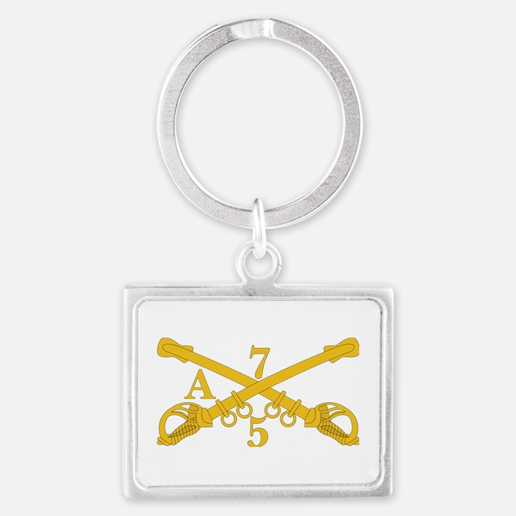 A Company 5th Troop 7th Cavalry Keychains