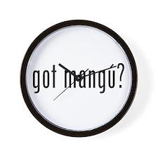 got mangu? Wall Clock